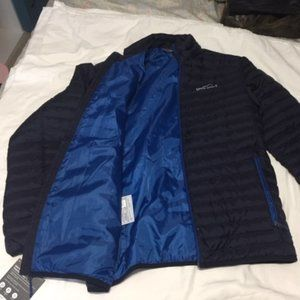 Blue Eddie Bauer Packable Down Jacket Small NEW